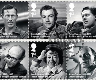 Purpose designs new 'Remarkable Lives' stamps for Royal Mail