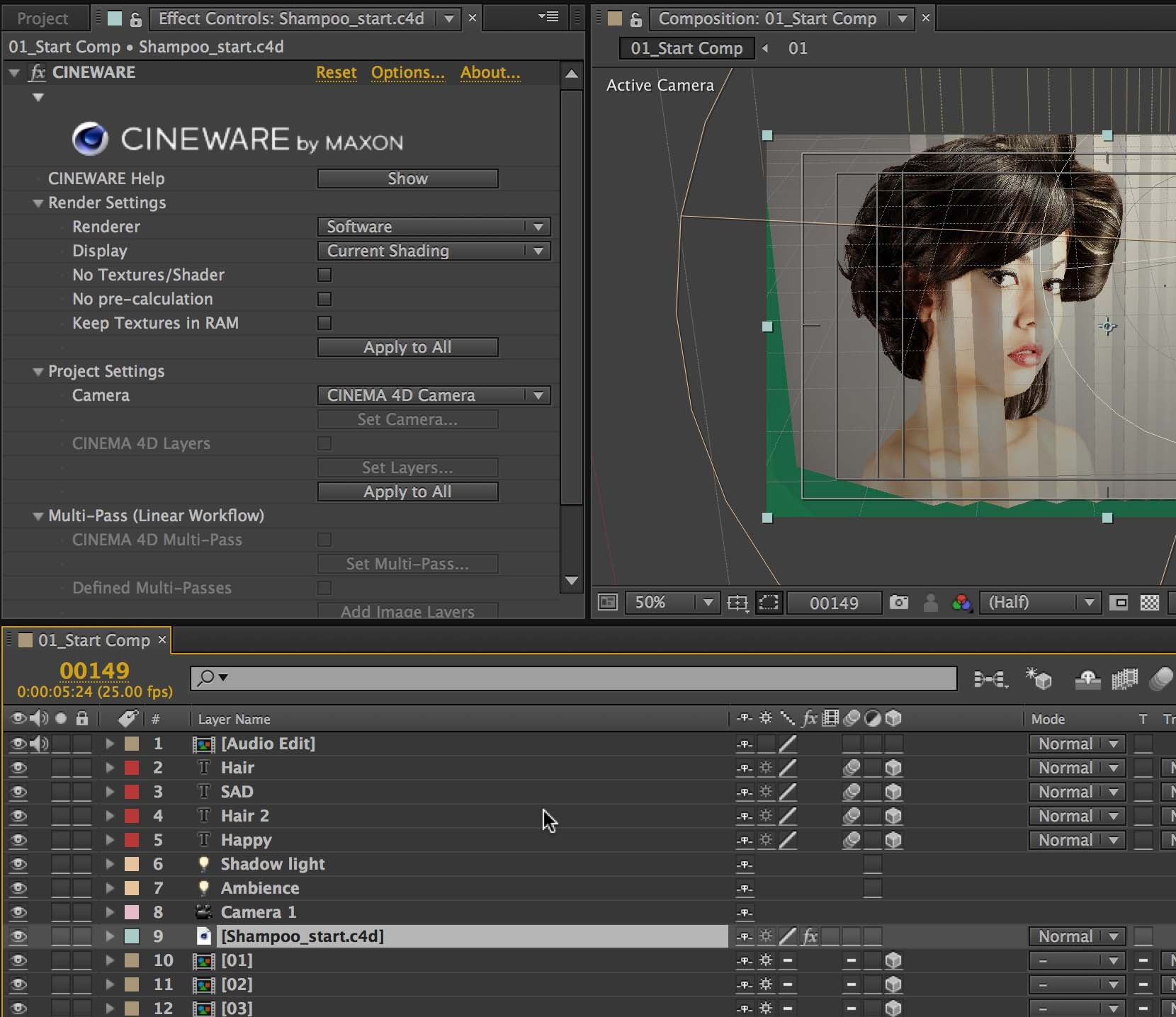 How to Open Cinema 4D Lite in After Effects - …