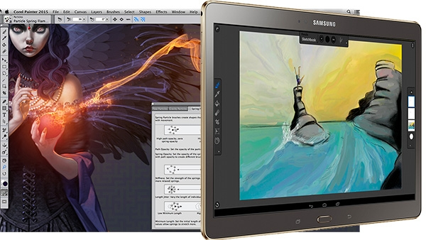 Price Match App >> Corel Painter 2015 digital painting software released with ...
