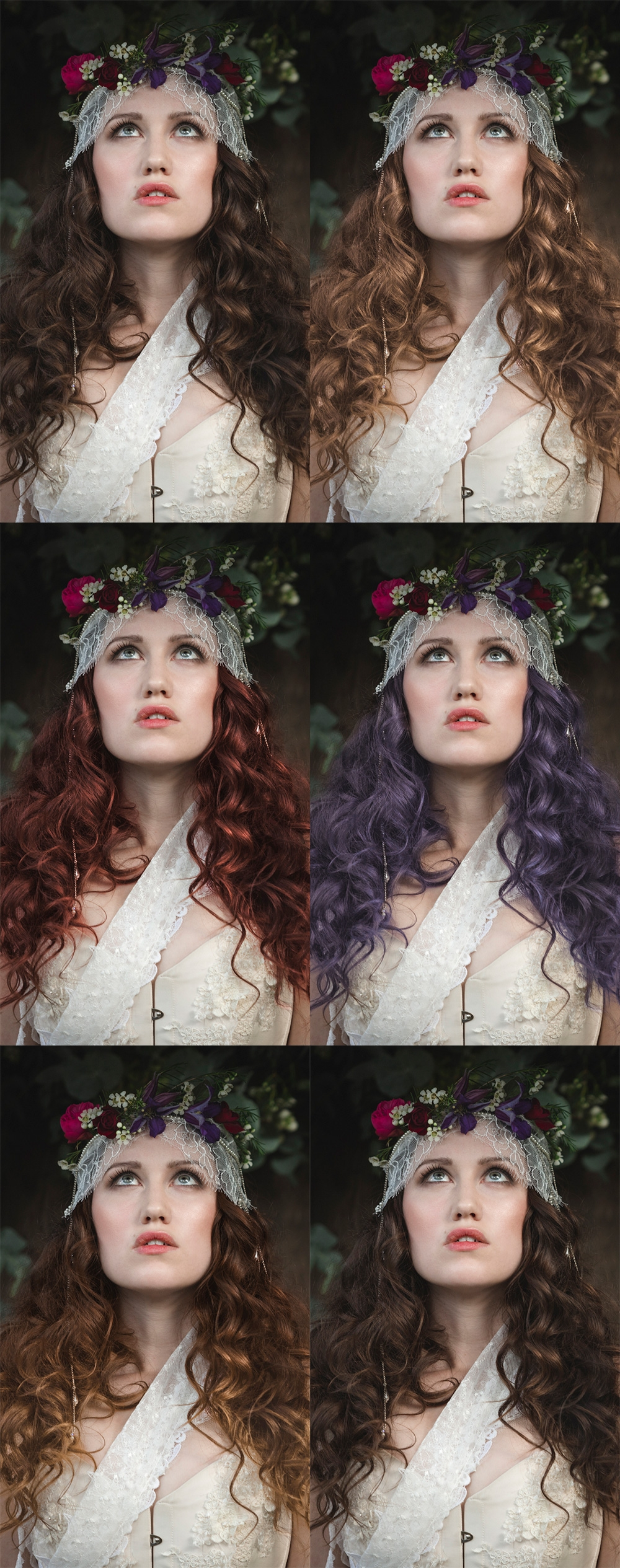 How to Change Hair Color in Photoshop - PHLEARN