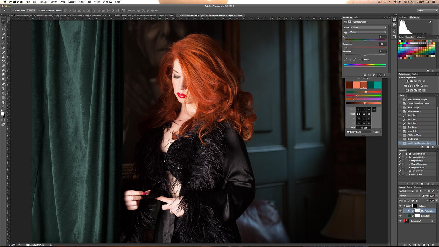 Photoshop tutorial: Use colour theory to balance a photo's ...