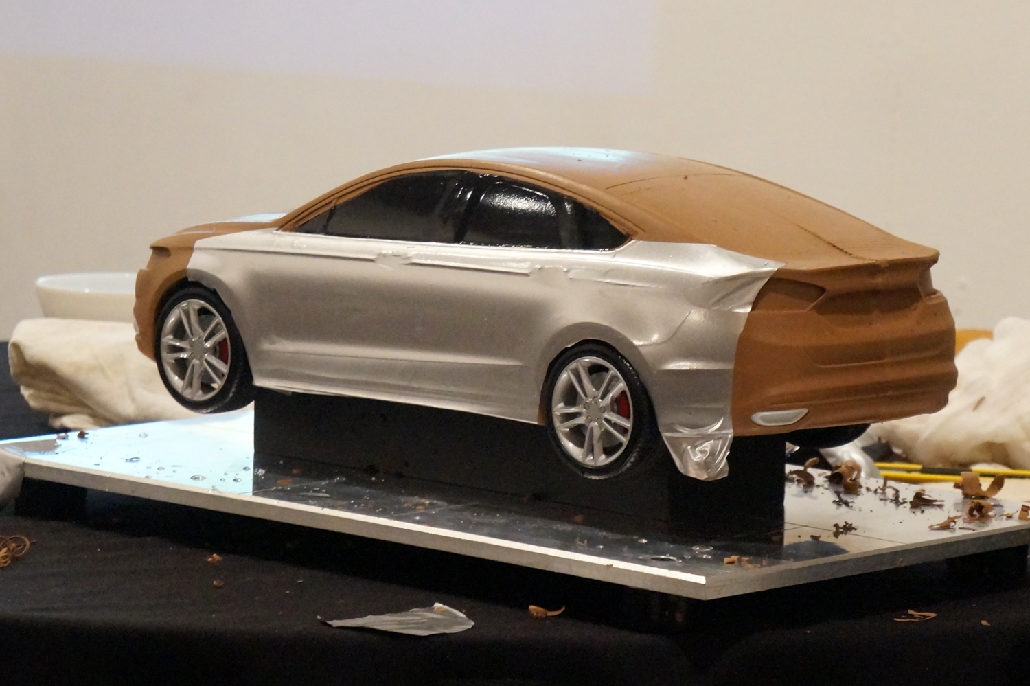 Design of car model - None Of The Designs Start Life There Surfaces Are Always Taken From What S Been Created By Hand In Clay