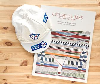 Poster book puts graphic art of the world's hardest cycling climbs on your walls