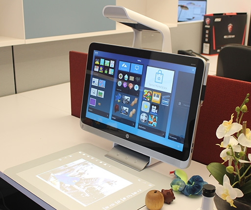 HP Sprout hands on review: we draw, scan 3D objects and get creative with the 'future of desktop PCs'