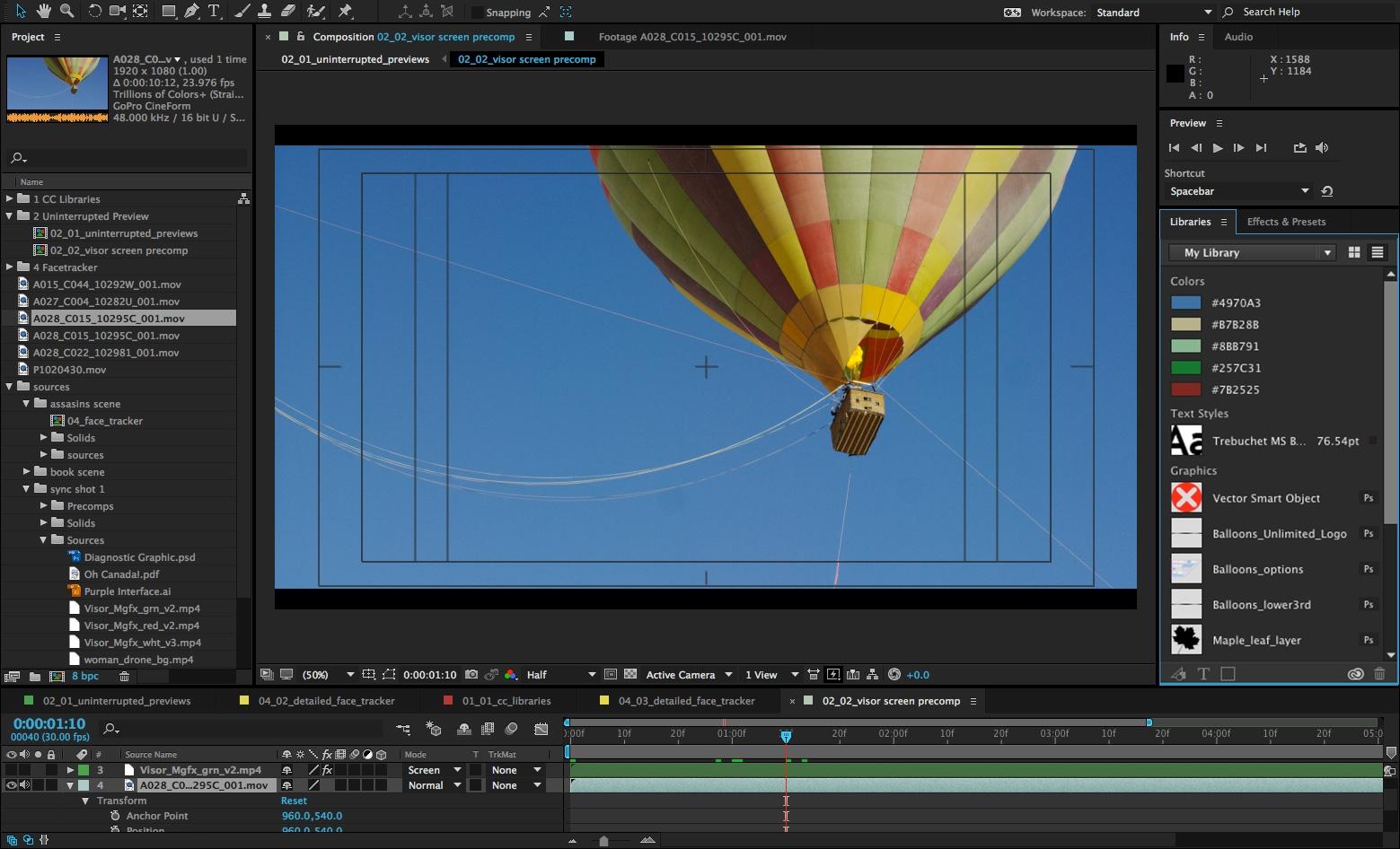 Adobe CC Update Previews New Features In Video Tools After - Awesome slideshow after effects scheme