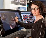 Wacom Cintiq 27QHD: See how MPC's Nadia Mogilev creates amazing concept art with the tablet display