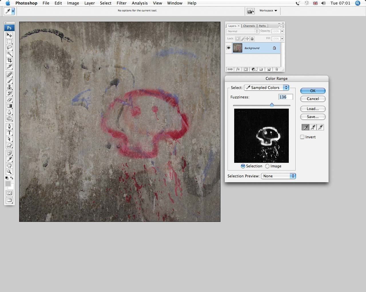 how to create graffiti look photoshop