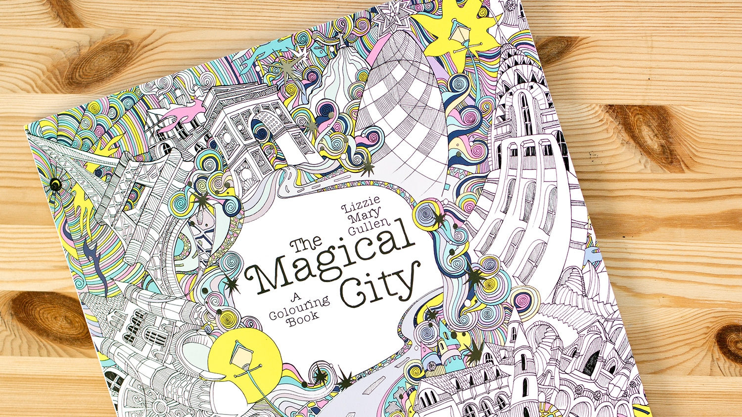 How Lizzie Cullen Created An Urban Themed Colouring In Book For Penguin