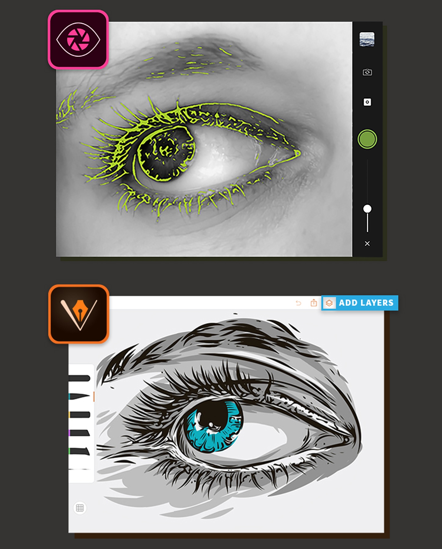 Pleasing The 13 Best Ipad Apps For Designers Adobe Capture Fontbook Largest Home Design Picture Inspirations Pitcheantrous