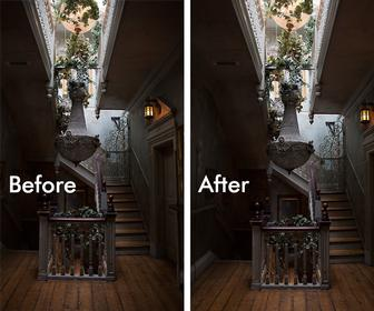Remove lens distortion in Photoshop using Camera Raw