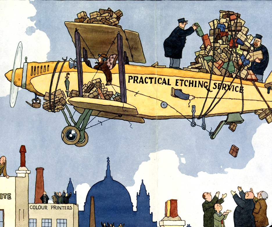 Rare Heath Robinson illustrations unveiled