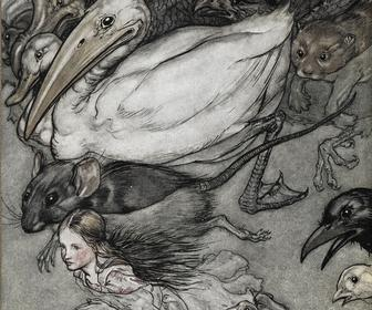 12 beautiful artworks from the 150 year history of Alice in Wonderland