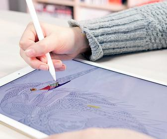 Millie Marotta's adult's colouring books are now an iPad app