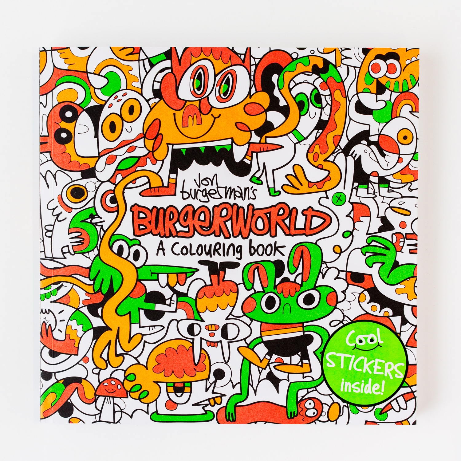 How \'king of doodle art\' Jon Burgerman created his first colouring ...