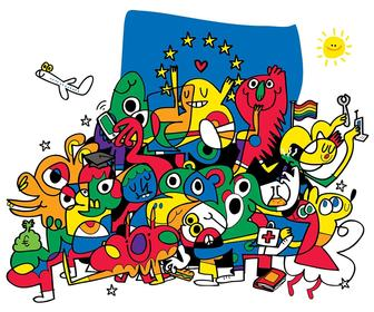 How artists and designers including Jon Burgerman, Jean Jullien, Axel Scheffler & more are backing Remain in the EU Referendum