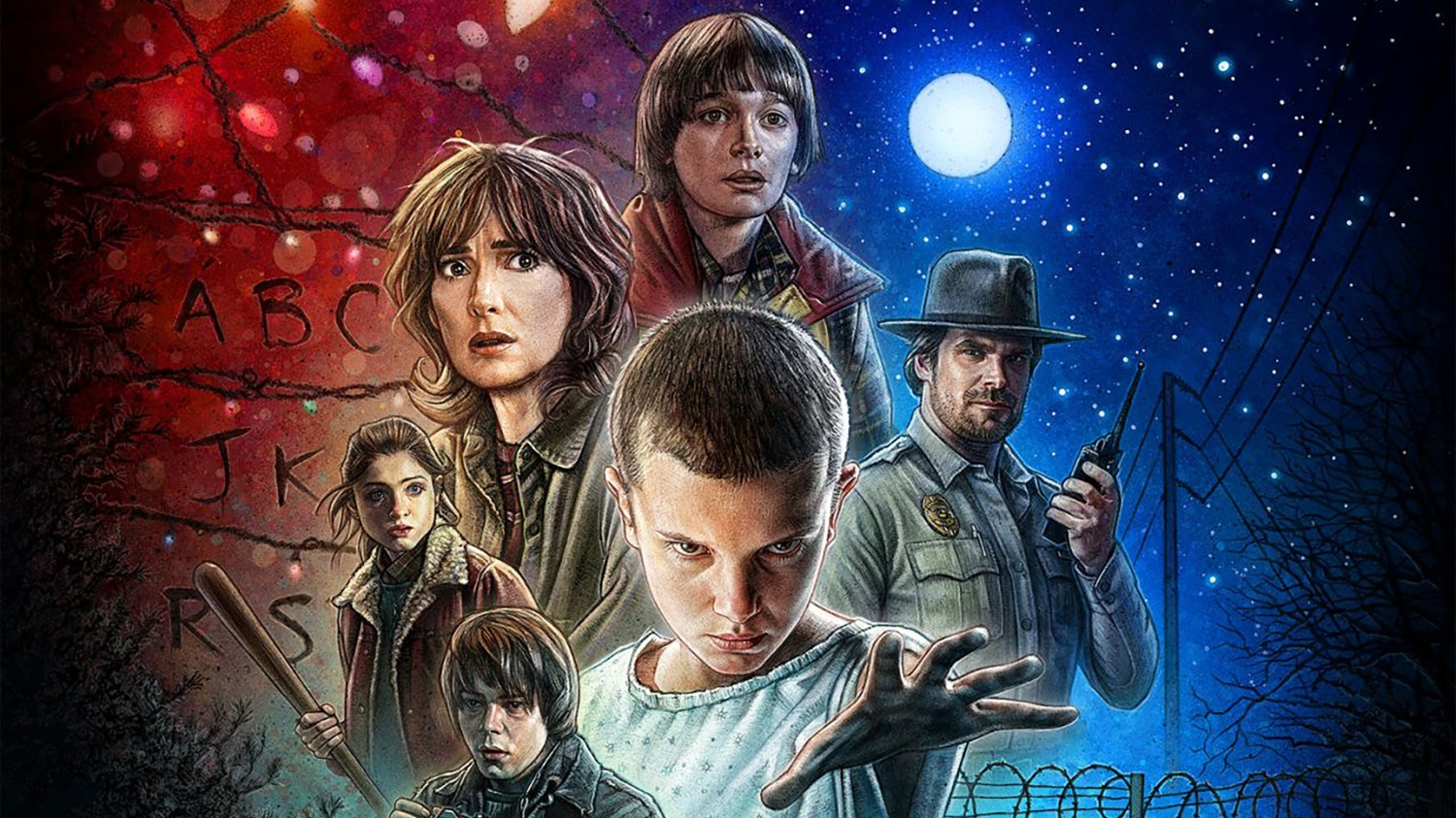 The Wonderful Stranger Things Poster And The 80s Cult