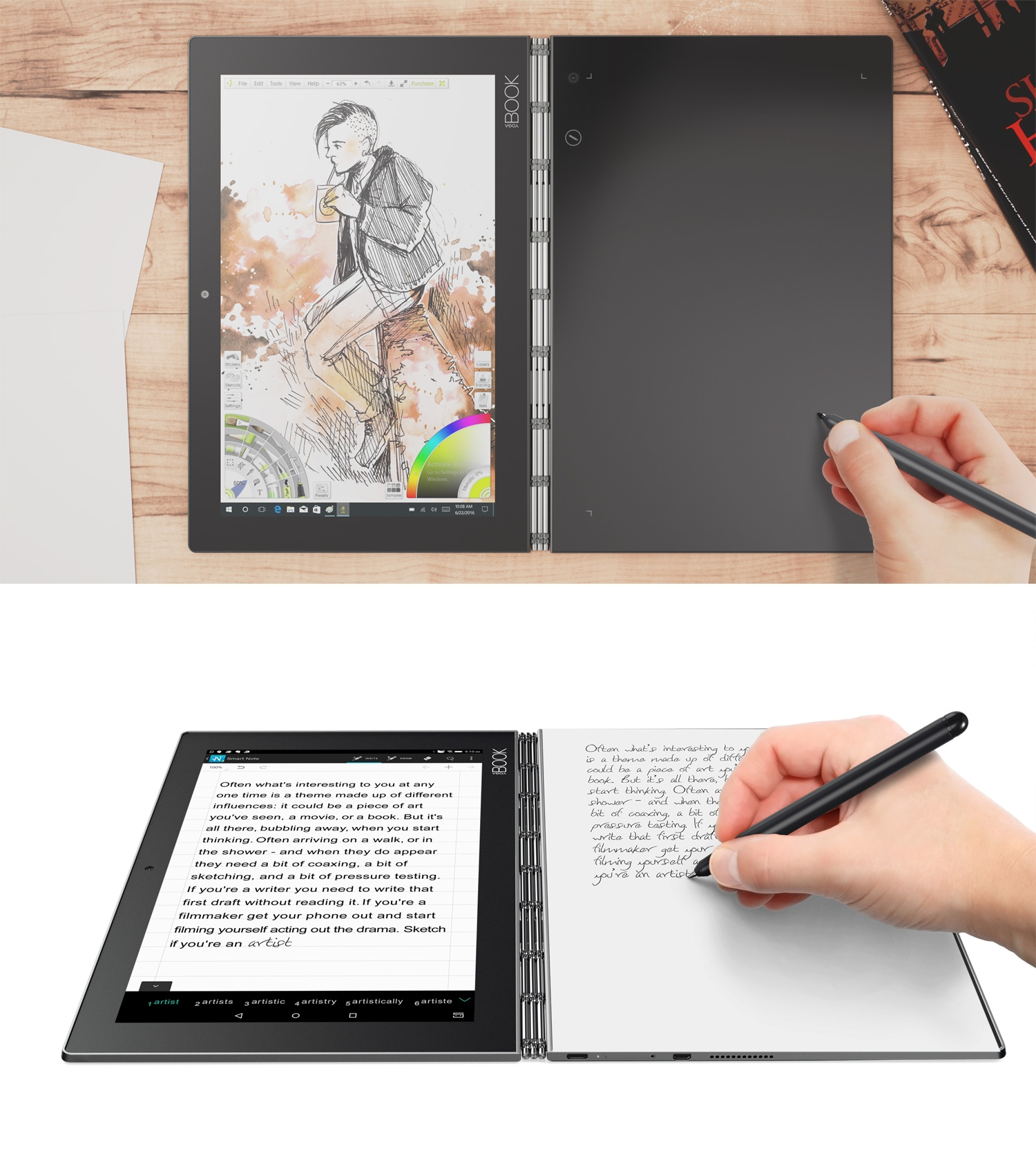 Lenovo S Beautiful Tablet Laptop Hybrid Also Captures What