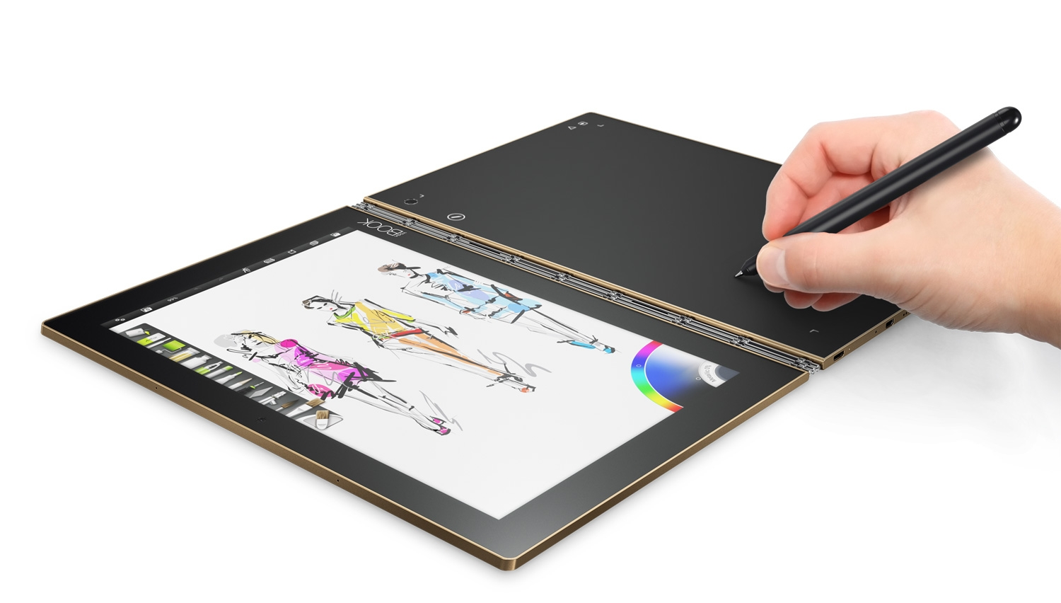 lenovo 39 s beautiful tablet laptop hybrid also captures what you draw on paper digital arts. Black Bedroom Furniture Sets. Home Design Ideas