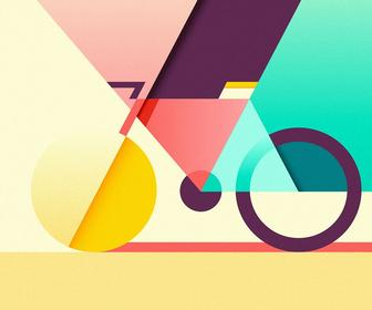 Ray Oranges' Artworks have a Beautiful Combination of Colour and Simple Geometry