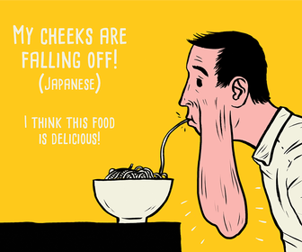Paul Blow illustrates these unusual phrases in foreign languages