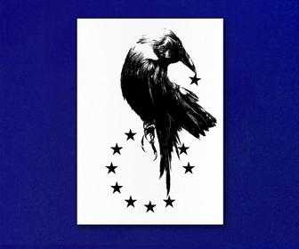 Postcards by British designers & illustrators to say 'we'll miss EU' now in book