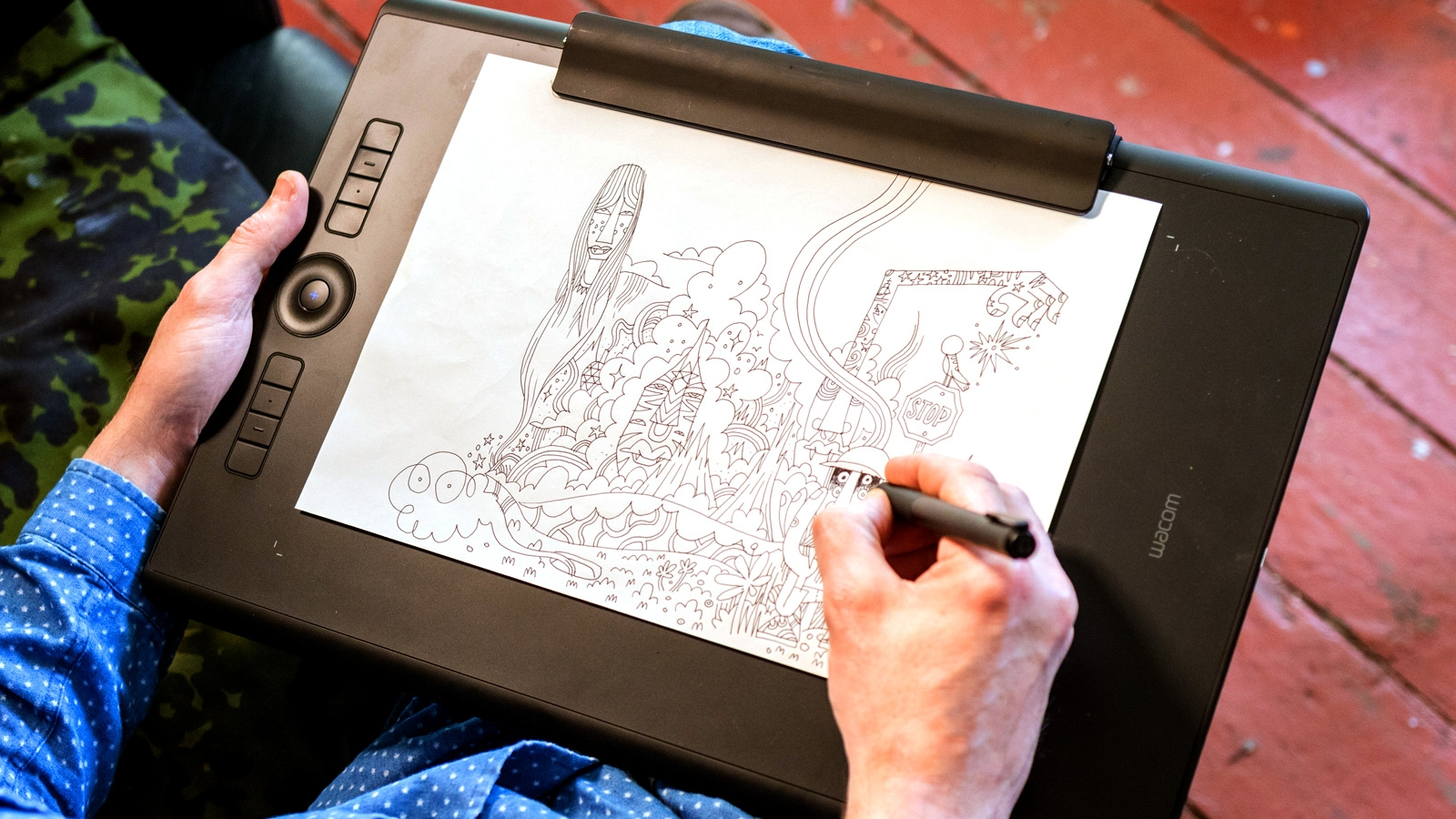 Drawing Smooth Lines With A Tablet : Getting started with krita david revoy