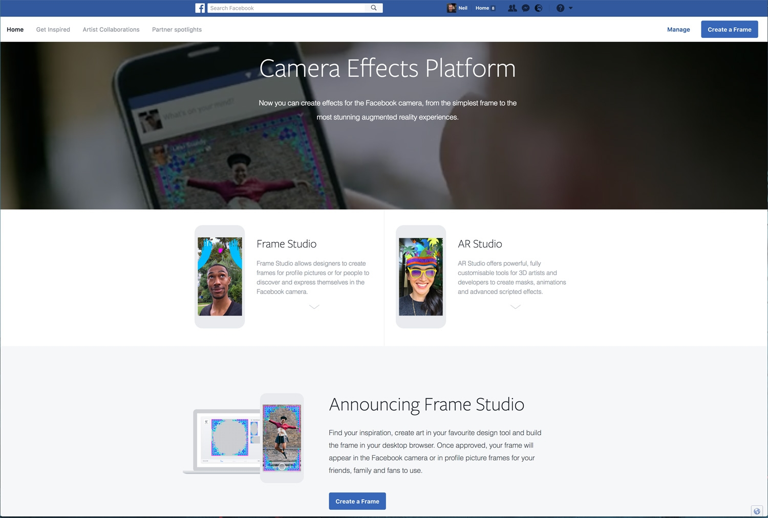 How To Turn Your Art And Designs Into Facebook Camera
