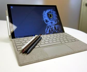 Microsofts new Surface Pro boasts a better pen, faster performance