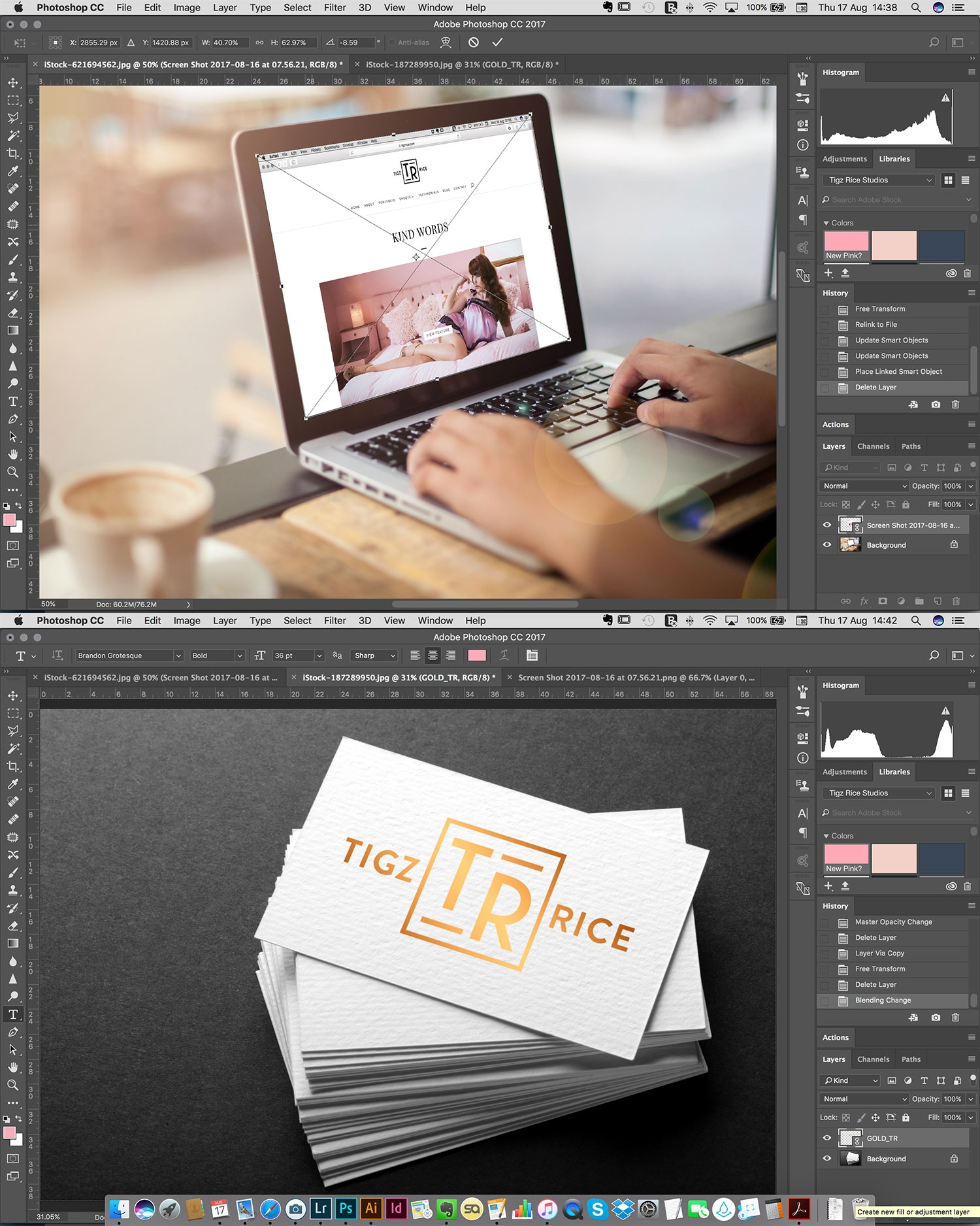 how to make a mockup in photoshop digital arts