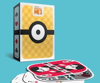 Designer Russell Gray's created amusing, Minion-filled playing cards for a Despicable Me 3 promo