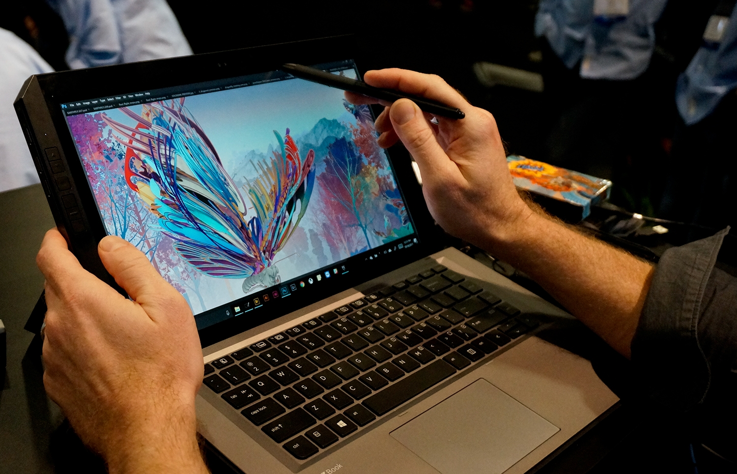 Hand's on with HP's new Surface Pro rival, designed for Adobe-using designers and artists