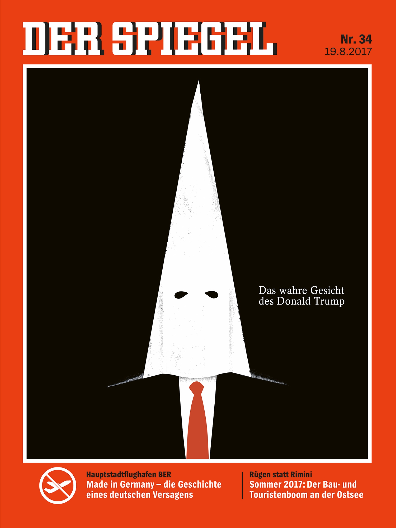 The Illustrator Of Famous Donald Trump Der Spiegel And Time Cover