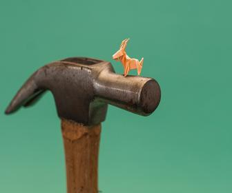 Origami artist Ross Symons on creating miniature sculptures everyday for a year