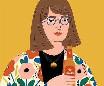 Abbey Lossing on what it's like to be a staff illustrator at Buzzfeed and Vice News