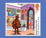 These new Royal Mail stamps feature artworks by Grayson Perry, Tracy Emin, Yinka Shonibare and more