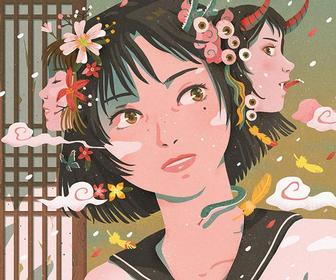 Korean illustrator Pie brings you into her charming storybook world