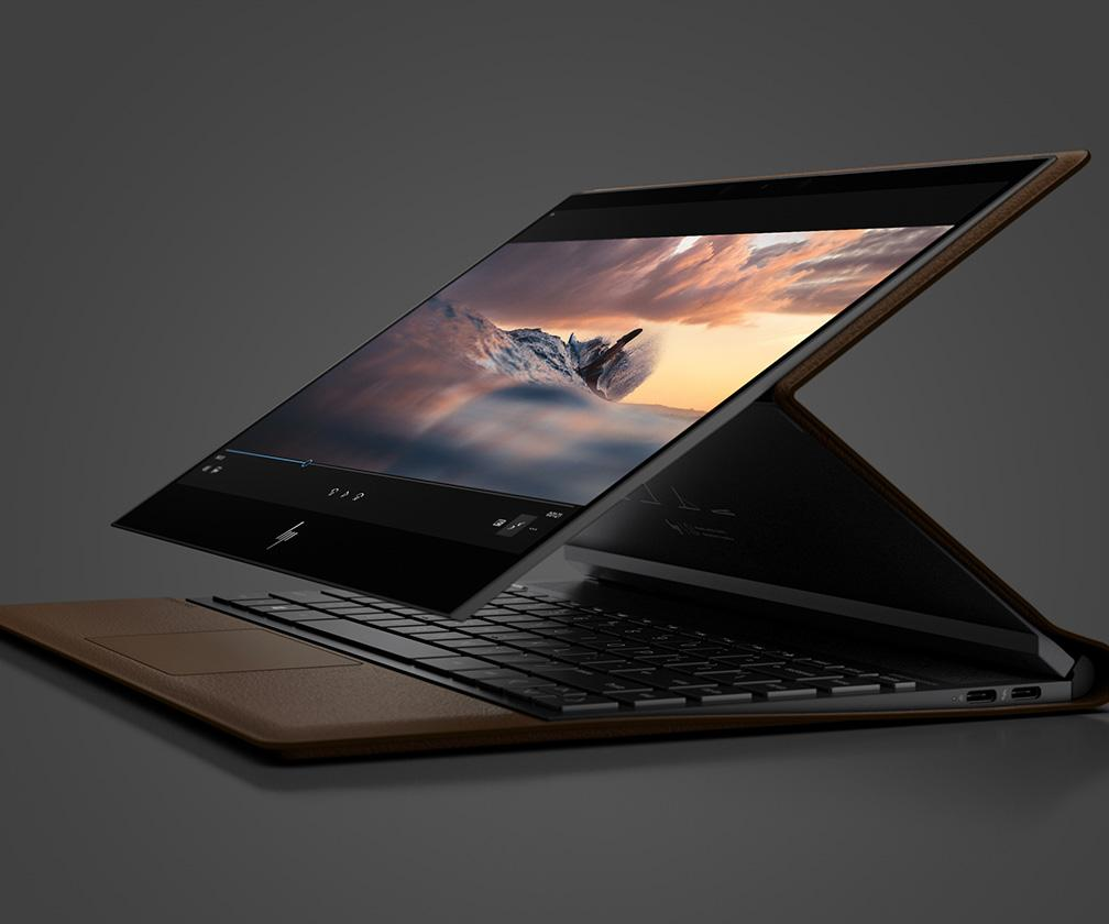 HP's Spectre Folio is a stylish, leather-bound take on the Surface Pro
