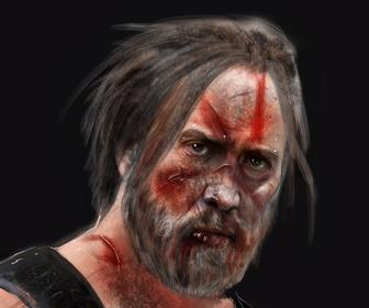 Inside the concept art behind Nicolas Cage's most bizarre film, Mandy