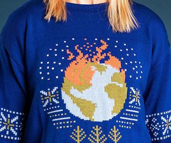Climate change, War and #MeToo: 'Ugly Truth' Christmas jumpers show the dark side to modern life